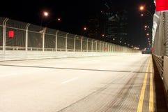 пустой след гонки Стоковые Фото