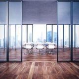 Пустой современный интерьер офиса Стоковые Изображения RF