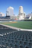 Пустой стадион бейсбола Стоковое фото RF