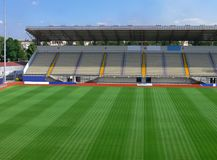 пустой стадион футбола 3 Стоковое Фото