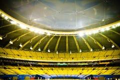 Пустой стадион бейсбола Стоковое Изображение RF