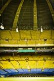 Пустой стадион бейсбола Стоковые Фотографии RF