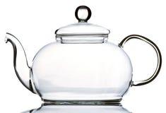 пустой стеклянный чайник Стоковое Изображение RF