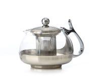 пустой стеклянный чайник Стоковая Фотография RF