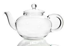 Пустой стеклянный чайник Стоковые Фотографии RF