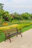 Пустой стенд в парке Стоковое фото RF