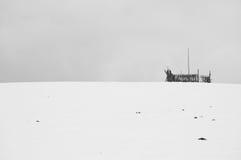 пустой стог сена Стоковые Фотографии RF