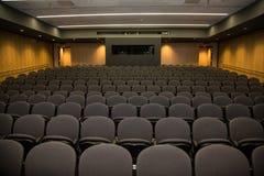 Пустой театр лекции от этапа Стоковая Фотография