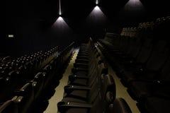 пустой театр кино Стоковое фото RF