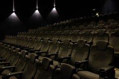 пустой театр кино Стоковая Фотография
