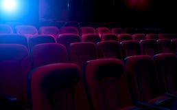 пустой театр кино Стоковое Изображение