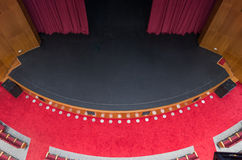 пустой театр Стоковые Изображения