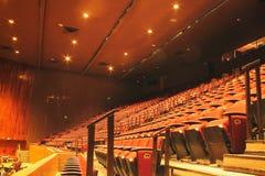 пустой театр Стоковая Фотография