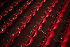 Пустой театр Hall Стоковая Фотография
