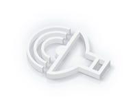 пустой том символа Стоковое фото RF