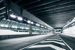 Пустой тоннель стоковое фото