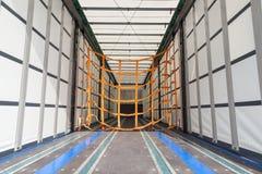 Пустой трейлер груза Стоковые Фотографии RF