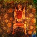 пустой трон Стоковая Фотография RF
