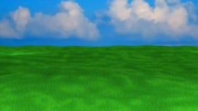 Пустой луг Стоковые Изображения RF