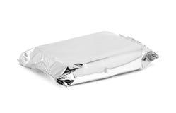 Пустой упаковывая мешок закуски алюминиевой фольги Стоковая Фотография RF