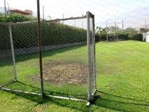 пустой футбол поля Стоковые Фотографии RF