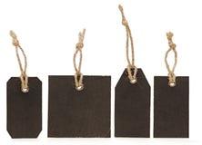 пустой ценник собрания Стоковые Фотографии RF
