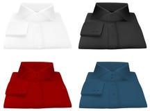 Пустой шаблон рубашки. иллюстрация вектора
