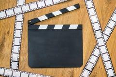 Пустой шифер фильма стоковая фотография rf
