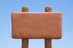 Пустой шильдик Стоковая Фотография RF