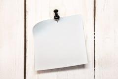 пустой штырь бумаги примечания Стоковые Фотографии RF