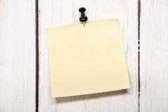 пустой штырь бумаги примечания Стоковые Изображения RF