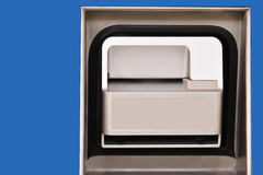 Пустой шлиц наличных денег машины Стоковая Фотография