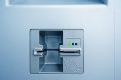 Шлиц пункта наличных денег ATM Стоковые Изображения