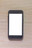 Пустой экран smartphone Стоковое Изображение