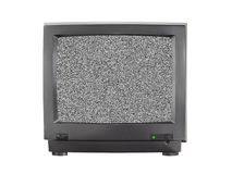 пустой экран tv Стоковое Фото