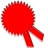 пустой ярлык certicate Стоковые Изображения RF