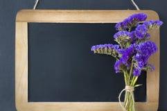 пустой chalkboard Стоковое Изображение RF
