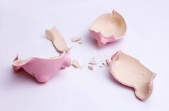Пустой piggy банк стоковое изображение