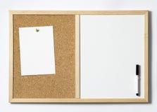 Пустой Pinboard Стоковое Фото