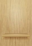 пусто shelve древесина иллюстрация штока