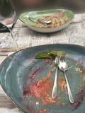 Пустые блюда десерта Стоковые Изображения RF