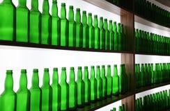 Пустые бутылки пива Стоковые Изображения RF