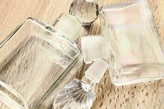 Пустые бутылки дух Стоковая Фотография