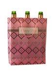Пустые бутылки шампанского в мешке Стоковое Изображение