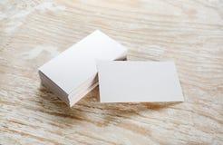 пустые визитные карточки Стоковое фото RF