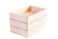 Пустые деревянные коробки Стоковое Фото