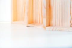Пустые деревянные коробки Стоковые Фото
