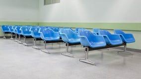 Пустые ждать места в больнице Стоковое фото RF