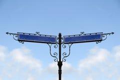Пустые знаки улицы Стоковая Фотография RF