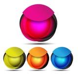 Пустые знамя сети/пузырь речи для вашей рекламы Стоковая Фотография RF